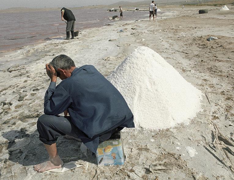 Добыча каменной соли