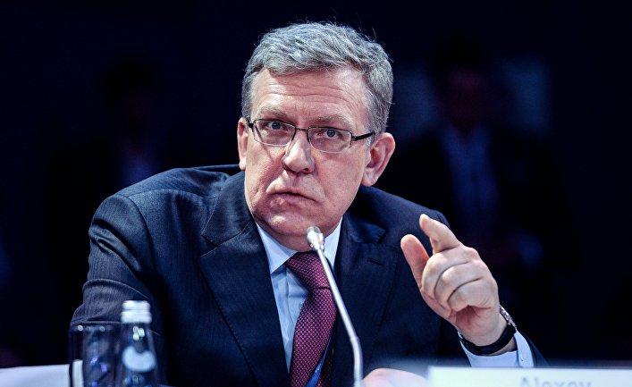 Заместитель председателя Экономического совета при президенте РФ Алексей Кудрин на Санкт-Петербургском международном экономическом форуме 2017