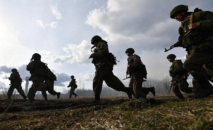Международные тактические учения ВДВ в Витебске