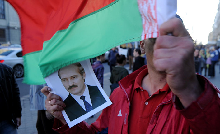 Митинг оппозиции в центре Минска