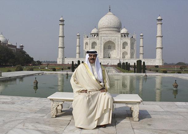 Король Бахрейна Хамада ибн Иса Аль Халифа