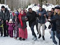 Празднование Масленицы в Нижнем Новгороде