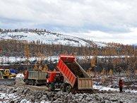 Строительство дороги в Олекминском районе Республика Саха (Якутия)