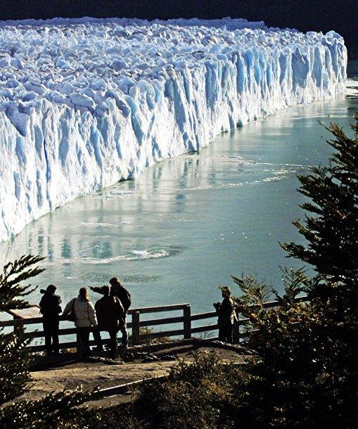 Ледник в Патагонии, Аргентина