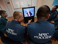 Трансляция «Прямой линии с Владимиром Путиным»