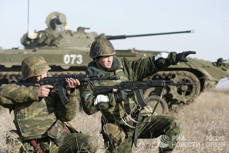 Батальонно-тактические учения 247-го десантно-штурмового Кавказского казачьего полка
