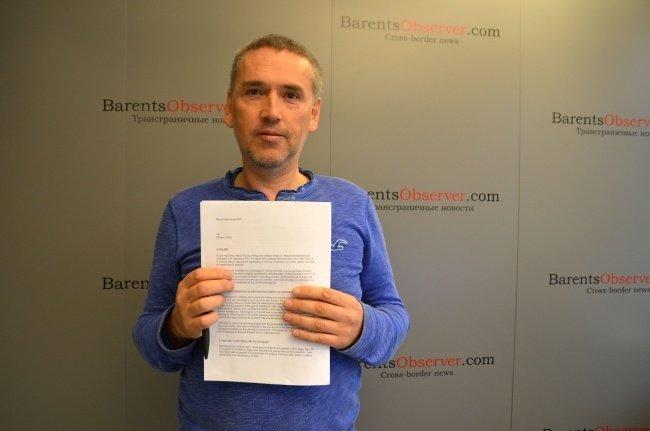 Редактор Barents Observer Томас Нильсен