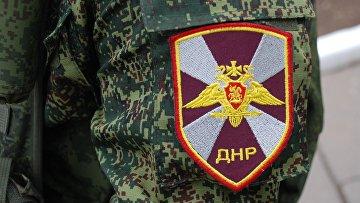 Торжественная церемония празднования 50-летия создания Донецкого высшего военно-политического училища