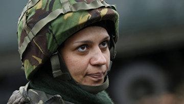 Надя, воюющая в рядах украинской армии