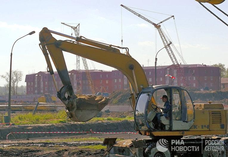 Строительство жилья по заказу Министерства обороны РФ под Санкт-Петербургом