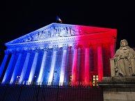 Здание Бурбонского дворца в Париже, где заседает нижняя палата парламента Франции – Национальная ассамблея