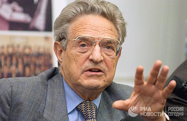 Американский предприниматель и филантроп Джордж Сорос