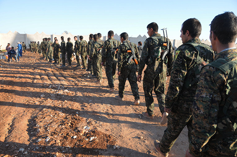 «Демократические силы Сирии» перед операцией по освобождению Ракки