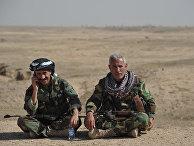 Бойцы курдской пешмерга