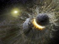 Столкновение с астероидом