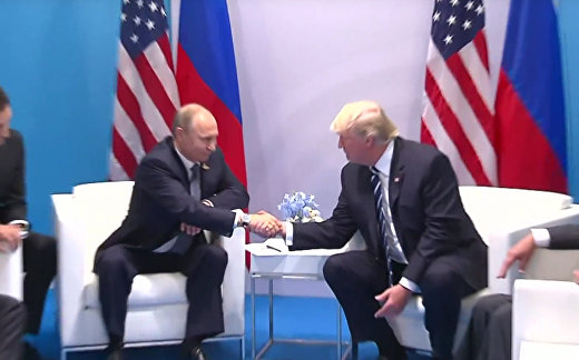 Трамп: для меня честь встретиться с Путиным