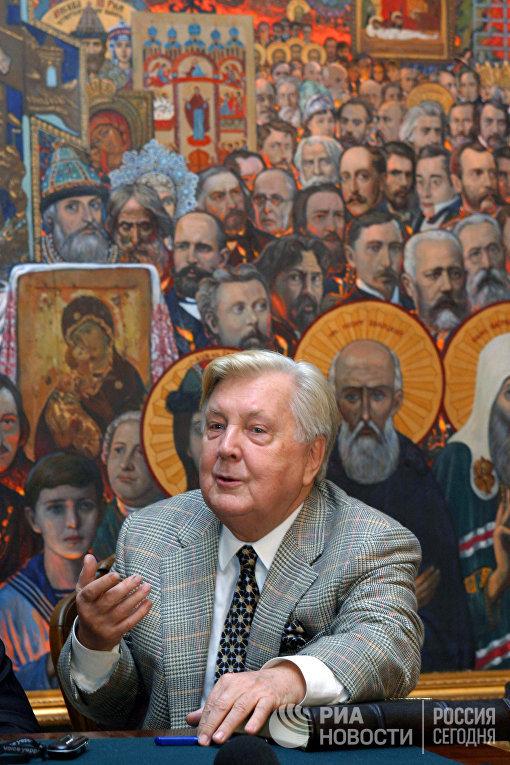 Народный художник СССР Илья Глазунов
