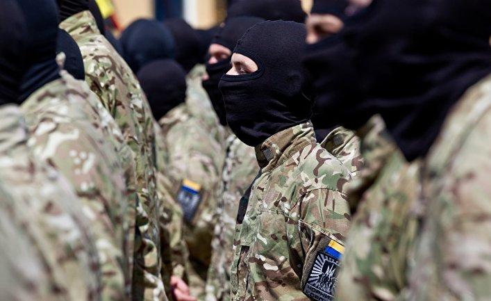 Солдаты батальона «Азов»