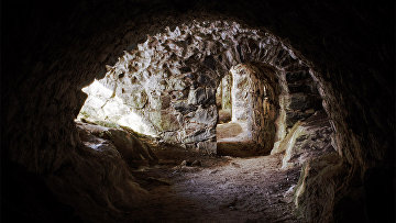 Подземные тоннели под крепостью Свеаборг вблизи Хельсинки