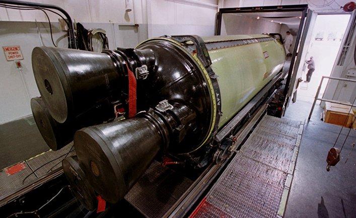 Двигатель межконтинентальной ракеты «Minuteman III» на базе ВВС США «Хилл»