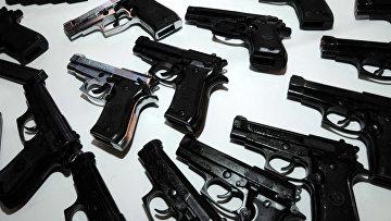 Оружие предназначенное для Коза Ностры, конфискованное полицией в Италии