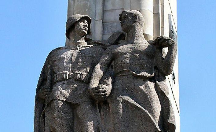 Памятник в городе Щецин