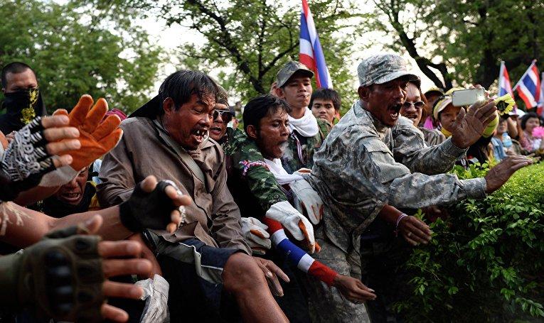 Столкновения в Таиланде