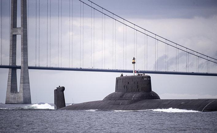 Российская атомная подводная лодка «Дмитрий Донской»