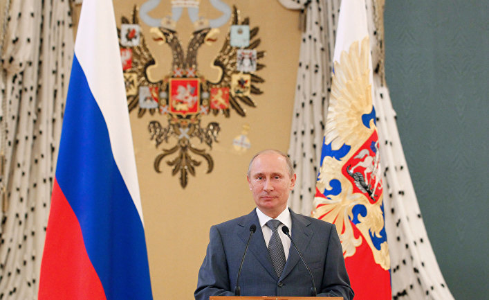В.Путин на встрече с паралимпийской сборной России в Кремле