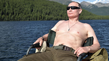 Президент РФ Владимир Путин провел отпуск в Республике Тыва