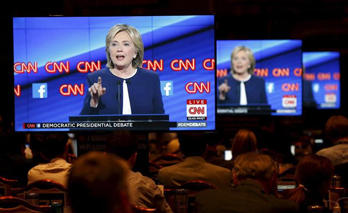 Выступление Хиллари Клинтон на первых президентских дебатах демократов