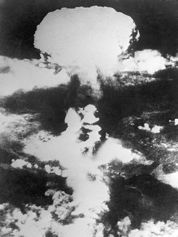 Атомный взрыв в Японии
