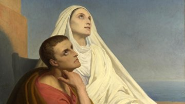 Святой Августин и Святая Моника