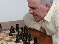 Российский гроссмейстер Гарри Каспаров