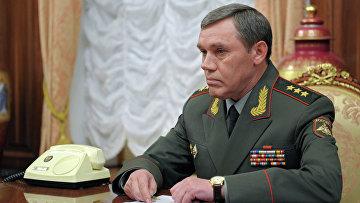 Новый глава Генштаба ВС РФ Валерий Герасимов. Архив