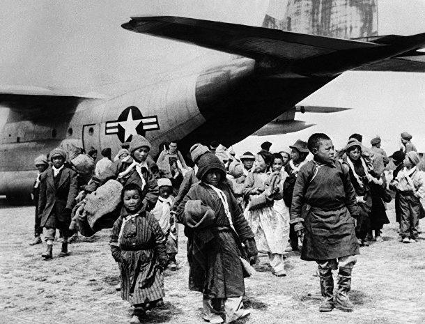 Тибетские беженцы прибывают в Патханкот