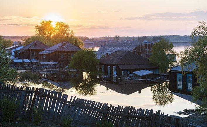 Порншка в русской деревне