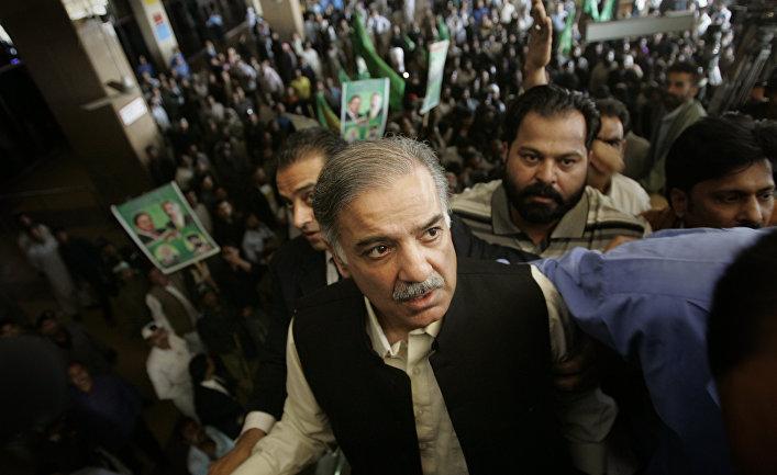 Государственный деятель Пакистана Шахбаз Шариф