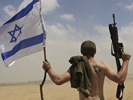 Военнослужащий армии Израиля в секторе Газа