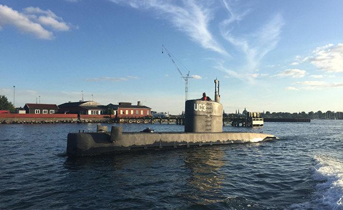 Подводная лодка UC3 «Наутилус» (Nautilus) в порту Копенгагена, Дания