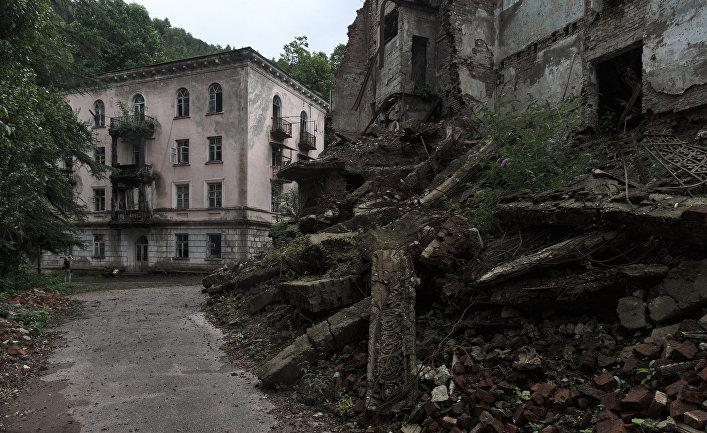 Город Акармара в Абхазии