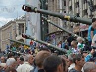 Празднование Дня независимости Украины в Киеве. 24 августа 2017