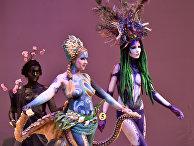 XV международный фестиваль боди-арта «Хрустальный Ангел» в Киеве