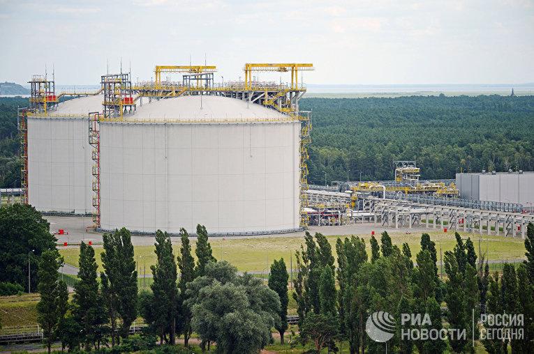 Газовый терминал в Польше