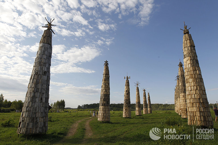 """Фестиваль """"Архстояние-2011"""" в Калужской области"""