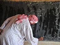 Учитель арабского языка в школе в Гао, Мали