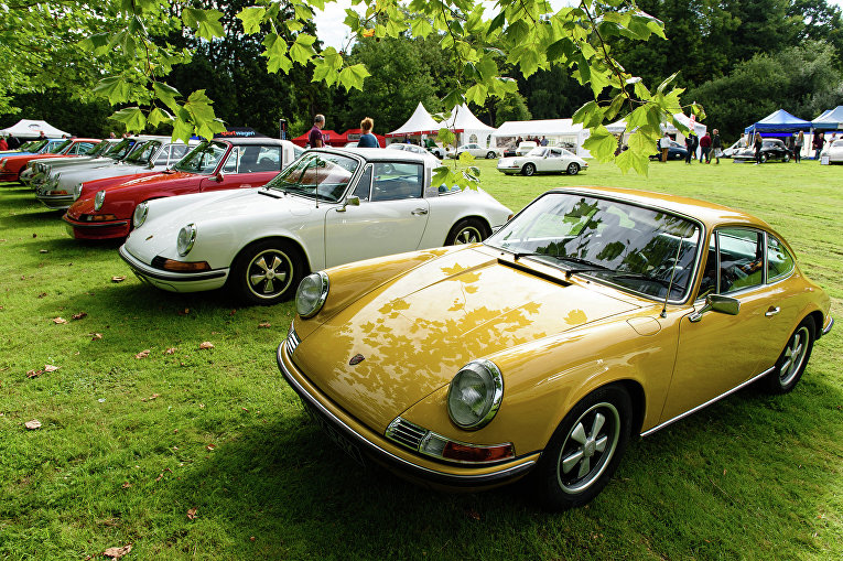 "Выставка ""Porsche Classics at the Castle"" в Лондоне"