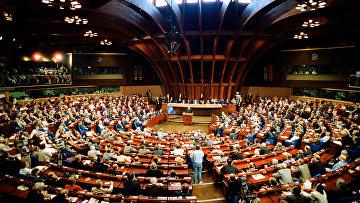 Выступление М.Горбачева в Совете Европы