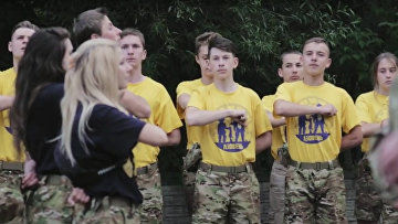 Украинский крайне правый детский лагерь: «Я хочу воспитать воина»