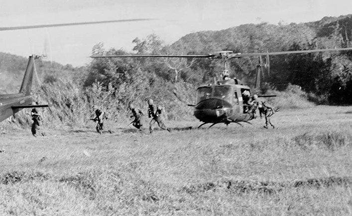 Битва в долине Йа-Дранг, Вьетнам. В посадочной зоне «X-Ray»
